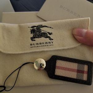 Burberry charm